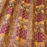 Mackintosh 400650 Bestickt Patchwork Viskose Plüsch