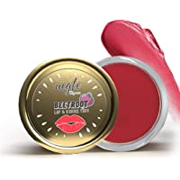 Aegte Organics Lip and Cheek Tint Balm (Rosy Pink) All-Natural Lip Balm (Real Beetroot & Tomato Extracts) for Women…