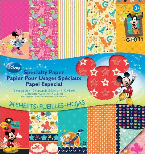 Unbekannt EK Success Disney Specialty Papierblock, Mickey Family