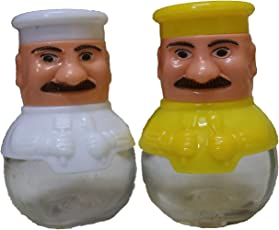 Salt and Pepper Dispenser, Set of 2 (Colors May Vary)
