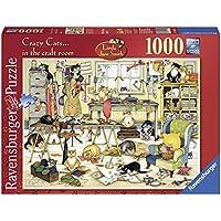 Ravensburger 19245 - Crazy Cats Puzzle, 1000 Pezzi