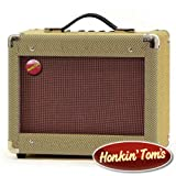 Honkin' Toms' Vintage 15W Guitar Amp / Harmonica Amplifier- Classic looks and impeccable tone for the amp connoisseur