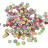 bigboba 5000unidades Nail de chip 3d uñas de Fimo aleatorio de mezcla, resina, Zufällige Mischung, 5000PCS