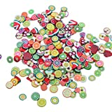 bigboba 1000 pezzi Nail di chip 3d nail art Fimo casuale misto, Zufällige Mischung, 1000PCS