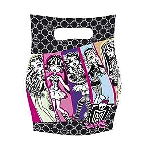 Kit de Fête anniversaire Monster Hight : 6 invitations, 6 sacs et 54 cadeaux pour les invités - Fête anniversaire