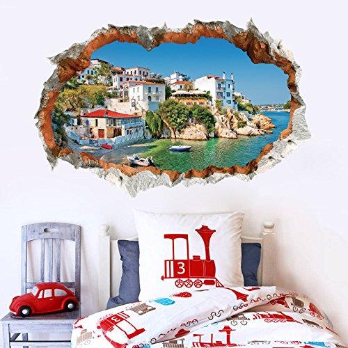 YUCH Mural 3D Solide Salon Canapé Contexte Mural pour Maison des Enfants Décoration Imperméable,5,60 * 90 Cm,