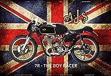 Schatzmix AJS 7R The Boy Racer Motorrad UK blechschild