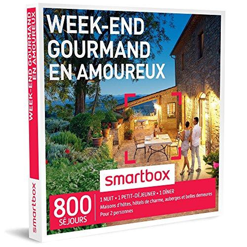 SMARTBOX - Coffret Cadeau - WEEK-END GOURMAND EN AMOUREUX -...