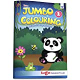Blossom Jumbo Colouring Book for Kids 3 years to 5 years old | Drawing, Coloring and Art Book for Girls and Boys | A3 Colour