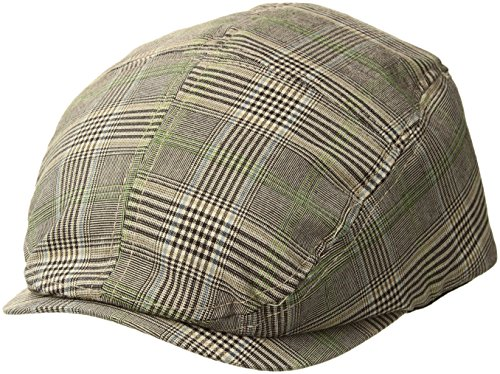 MG Fashion Plaid Ivy Cap - Marron - M
