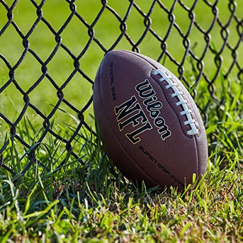Wilson NFL Super Grip Fußball, braun, Official - 3