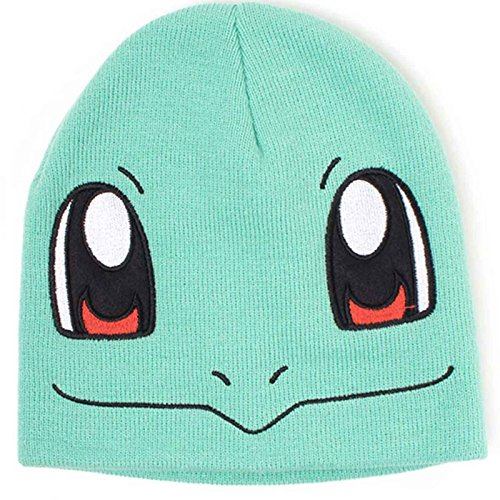 Pokemon Mütze Beanie Squirtle Face Nue offiziell Nintendo