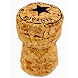 Carousel Home and Gifts Champagne Cork Fabric Doorstop ~ Fun Novelty Bottle Stopper Door Stop