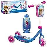 Mondo Toys - My First Scooter FROZEN II - Monopattino Baby bambino/bambina - 3 ruote - borsetta porta oggetti inclusa - 28222