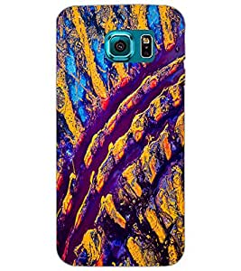 SAMSUNG GALAXY S6 SPOTS Back Cover by PRINTSWAG