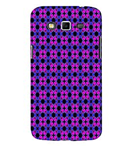 EPICCASE fashionable flowers Mobile Back Case Cover For Samsung Galaxy Grand 2 (Designer Case)