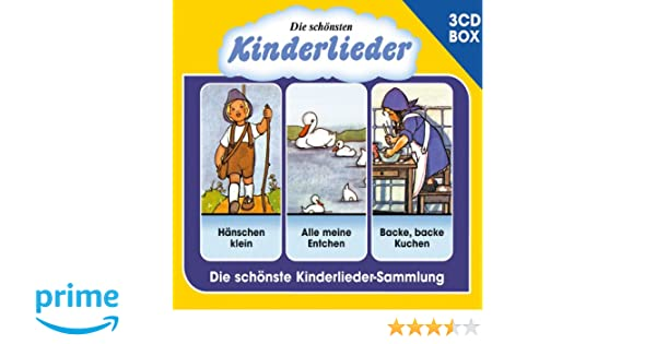 Die Schonsten Kinderlieder 3 Cd Liederbox Vol 1 Various Amazon