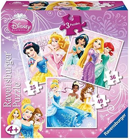 Ravensburger Disney Princess 7319 3 en 1 1 1 Boîte à vos amis   Léger  c50ac5