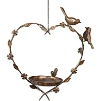 Dibor Bird Feeder Dish Hanging Heart Mother s Day Gardening Gift