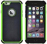 Custodia iPhone 6, Custodia iPhone 6S, G-Shield Custodia Massima Protezione [Anticaduta] [Antiscivolo] [Antigraffio] Protettiva Antiurto Case Cover Per Apple iPhone 6 / 6S - Verde