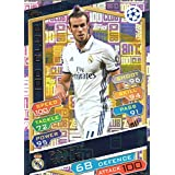 2016/17 PARTIDO ATTAX LIGA DE CAMPEONES 100 DEL CLUB GARETH BALE REAL MADRID HUNDRED DEL CLUB