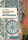 Dictionnaire insolite de Florence par Azay