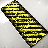 GAOJIAN Personalisierte Teppiche Mode Trend Retro Design Boden Matte Küche Nachttisch Teppich Schlafzimmer Badezimmer Antiskant Lange Teppich, 45 * 135cm, a