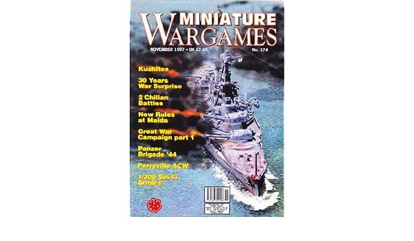 MINIATURE WARGAMES MAGAZINE BACK ISSUE #174 KUSHITES - 30
