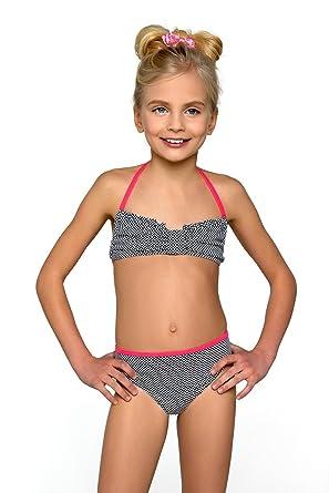 costume da bagno per bambina bikini misura per 7 13 anni black