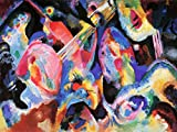 Wassily Kandinsky russo Abstract Old Master Art painting Print 30,5 x 40,6 cm 30 x 40 cm poster 3045OM