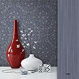 NEWROOM Barocktapete Blau Vliestapete Ornamente Barock schöne moderne und edle Design Optik , inklusive Tapezier Ratgeber