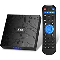 TUREWELL T9 Android 9.0 Boîtier TV 2 Go RAM/16 Go ROM Support 2.4/5.0 GHz WiFi BT4.0 RK3318 Quad-Core 4K 3D HDMI DLNA…