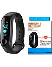 Nouvel M3 My Device My Life Smart Bracelet Sports Mileage Blood Pressure Heart Rate Monitor OLED M3 Band