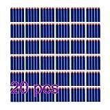 Elite Dart, 200pcs 7,2 cm Refill Darts f¨1r Nerf N-Strike Elite Serie Blaster Spielzeugpistole