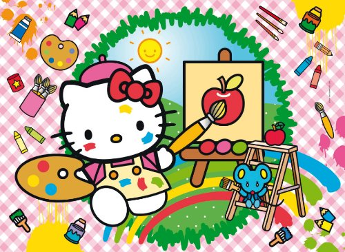 Puzzle 104 3D Hello Kitty