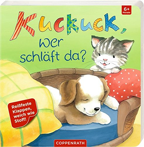 Kuckuck, wer schläft da?: Mit reißfesten und speichelfesten Klappen (Co-klappe)