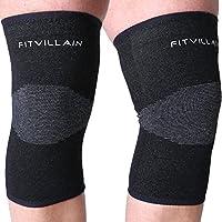 Kniebandagen für Sport und Fitness - Stützbandage ideal für Joggen, Basketball, Gewichtheben, Wandern, Laufen,... preisvergleich bei billige-tabletten.eu