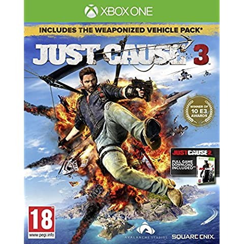 Just Cause 3 Day 1 Edition (Xbox One) by Square Enix