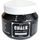 Itsy Bitsy Little Birdie Home Decor Chalk Paint (450 ml, Charcoal)