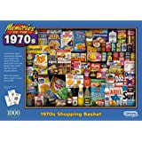 Gibsons 1970s Shopping Basket Jigsaw Puzzle (1000 Pieces)
