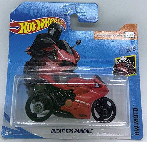 Hot Wheels 2018 Ducati 1199 Panigale Red 3/10 HW Moto 132/365 (Short Card)