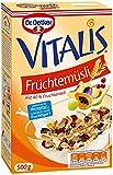 Vitalis Früchtemüsli, 4er Pack (4 x 500 g)