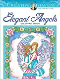 Creative Haven Angels Coloring Book (Creative Haven Coloring Books)