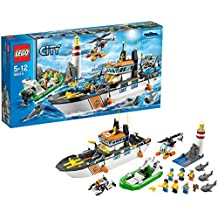 LEGO? CITY? Coast Guard Patrol with Helicopter and Minifigures | 60014 by LEGO