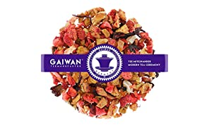 """Núm. 1323: Té de frutas """"Mañana frutal"""" - hojas sueltas - 100 g - GAIWAN® GERMANY - manzana, papaya y piña endulzadas, gránulos de fruta de la fresa, hibisco"""