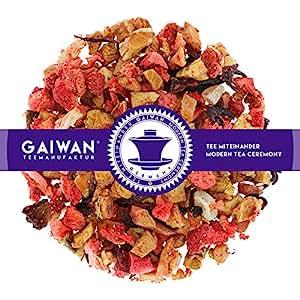 "No. 1323: Fruit Tea Loose Leaf""Fruity Morning"" - 250 g (8.82 oz) - GAIWAN Germany - Apple, Pineapple, Papaya, Strawberry, Hibiscus"