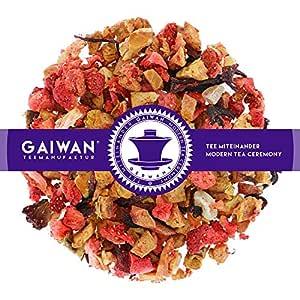 "N° 1323: Tè alla frutta in foglie ""Fruity Morning (Mattino Fruttato)"" - 250 g - GAIWAN® GERMANY - tè in foglie, mela, ananas, papaia, fragola, ibisco"