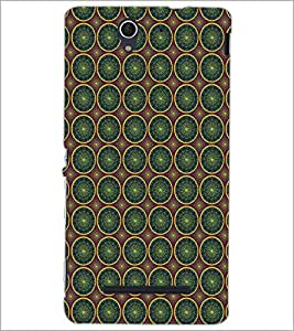 SONY XPERIA C3 CIRCLE PATTERN Designer Back Cover Case By PRINTSWAG