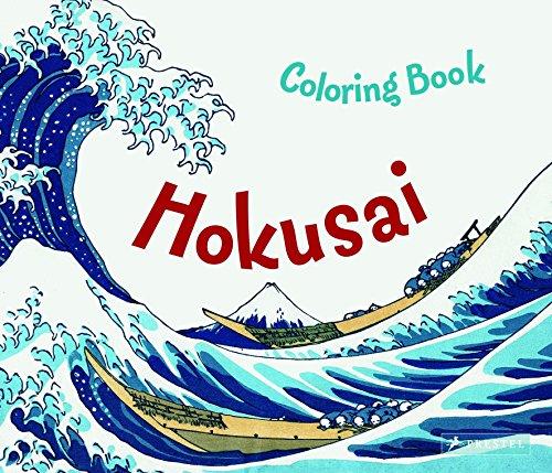 Hokusai Colouring Book por Marie Krause