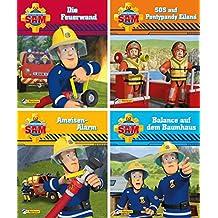 4er Feuerwehrmann Sam 9-12 (Nelson Mini-Bücher)
